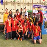 Nehru House Boys.... Volley Ball winners....
