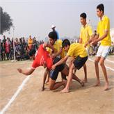 Played Hard to win..... Kabaddi Match.... Nehru House vs Gandhi House....