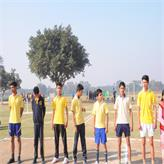 Students ready for Kabaddi Match..